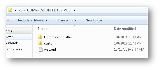 Compression Filter Files